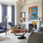 classic-living-room-decorating-ideas-vintage-furniture-blue-and-white-curtains
